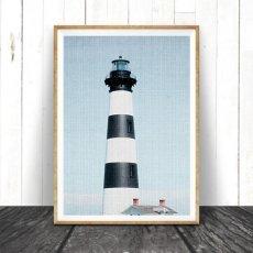 画像1:  灯台 Lighthouse ライトハウス おしゃれポスター (1)