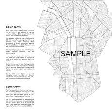 画像2: PARIS France パリ Map Simply マップポスター (2)