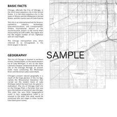 画像2: CHICAGO シカゴ MAP マップ ポスター (2)