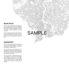 画像2: LONDON ロンドン MAP マップ ポスター (2)