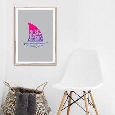 画像2: CALIFORNIA DREMAING カリフォルニア ドリーミング サーフボード  ポスター (2)