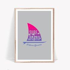 画像1: CALIFORNIA DREMAING カリフォルニア ドリーミング サーフボード  ポスター (1)