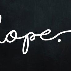 画像2: HOPE チョークボード おしゃれポスター (2)
