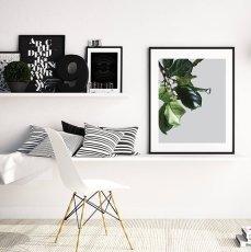 画像2: BOTANICAL ボタニカル GREEN 植物 おしゃれポスター (2)