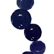 画像2: CIRCLE LINE UP サークル ラインアップ インディゴ アート ポスター (2)