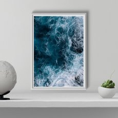 画像2: SALE : DEEP OCEAN 深海と名言 おしゃれポスター 2枚セット (2)