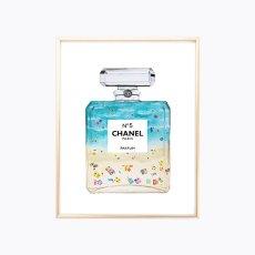 画像2: CHANEL シャネル No.5  BEACH IN THE パフュームボトル ポスター (2)