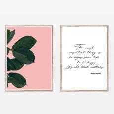 画像1: ボタニック & Audrey Hepburn 名言ポスター 2枚セット (1)
