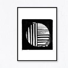 画像2: GEOMETRIC ジオメトリック 和風モダン サークル ポスター (2)