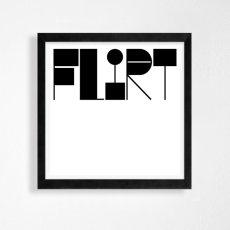 画像2: FLIRT  モノトーンポスター (2)