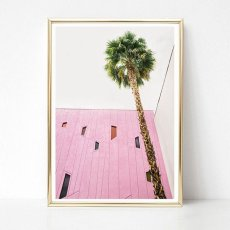 画像2: Palm Tree & Mid Century Architecture ポスター  (2)