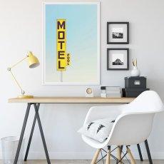 画像2: MOTEL 看板 モーテル ホテル おしゃれポスター  (2)