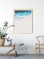 画像2: COASTAL BEACH WAVE コースタルビーチ ポスター  (2)