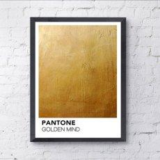 画像2: PANTONE パントーン Golden Mind ポスター (2)