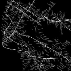 画像3: MTA NYC Subway Map 地下鉄マップ ポスター (3)