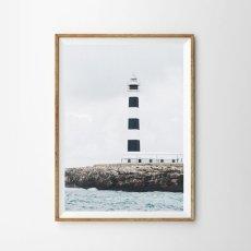 画像1: LIGHT HOUSE OCEAN 灯台 ポスター (1)