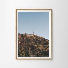 画像1: ハリウッド HOLLYWOOD サイン ポスター (1)