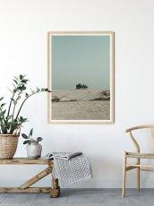 画像2: 砂漠と青空 Desert with blue Sky ポスター (2)