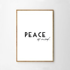 画像1: 『PEACE of Mind 』メッセージポスター  (1)