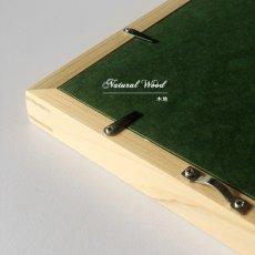 画像2: オリジナル  スリム 木製 BOX ポスターフレーム 額縁 (白) (2)