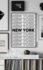 画像2: NEW YORK ニューヨーク ポスター (2)