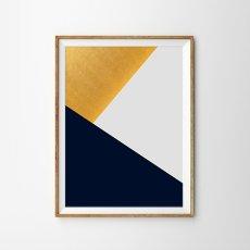 画像1: Modern Geometric ジオメトリック モダン ポスター (1)