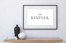 画像2: 『The KINFOLK』キンフォーク モノトーンポスター (2)