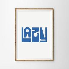 画像1: LAZY LAZY ポスター (1)