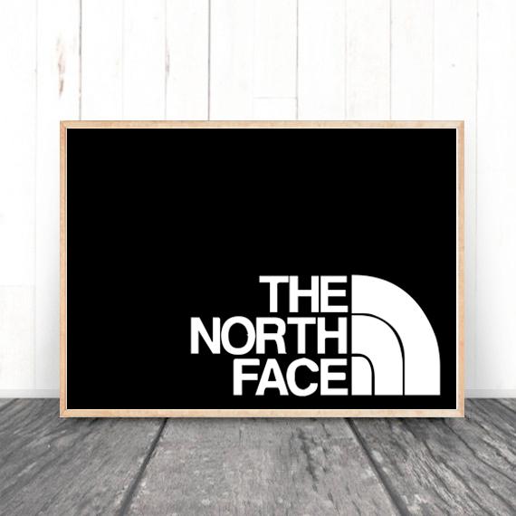 画像1: THE NORTH FACE  パロディポスター  (1)