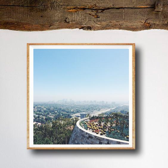 画像1: LOS ANGELES ロサンゼルス Over View 景色 ポスター (1)