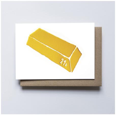 画像1: Yellow Own Workshop (イエロー・オウル・ワークショップ) - 14K GOLD ポストカード (1)