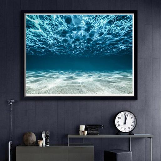 画像1: DEEP WATER オーシャン フォトグラフィー ポスター (1)