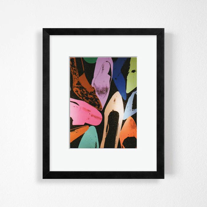 画像1: アンディ・ウォーホル Andy Warhol 『SHOES』 額縁込み (1)