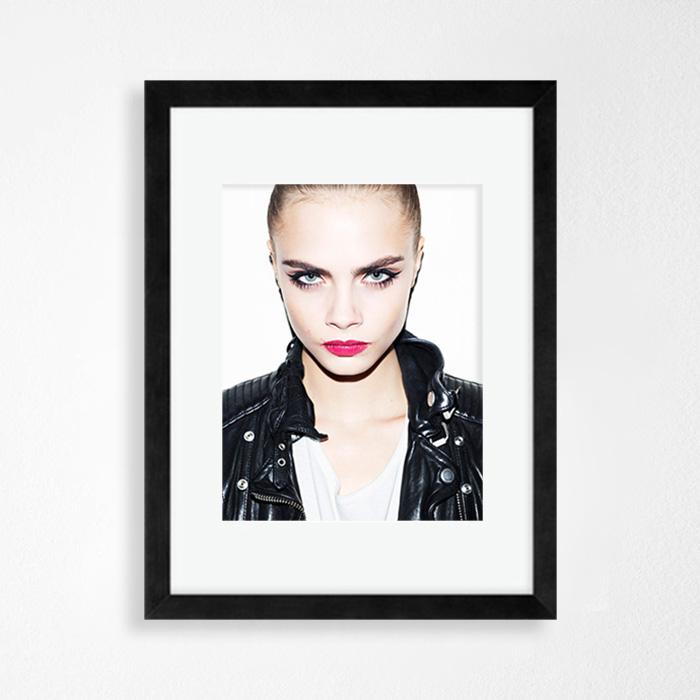 画像1: Cara Delevingne(カーラデルヴィーニ) IN-STYLE ポスター (1)