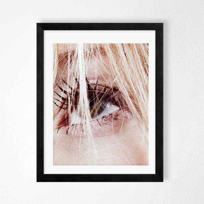 画像1: KATE MOSS ケイト モス EYE ファッション アートポスター (1)