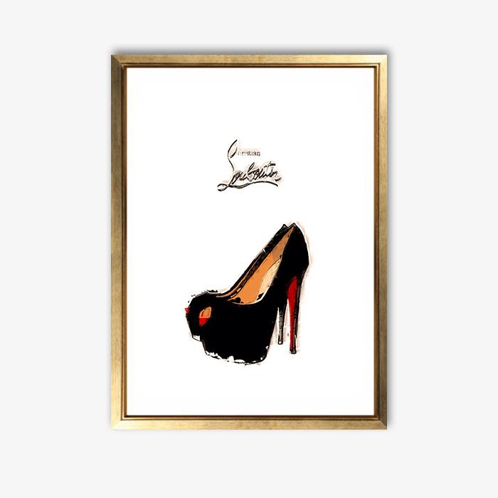 画像1: クリスチャンルブタン(Christian Louboutin) おしゃれなポスター (1)