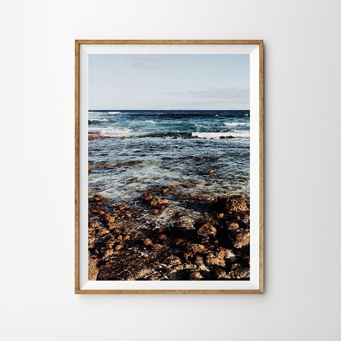 画像1: Ocean Waves Sound 自然ポスター (1)
