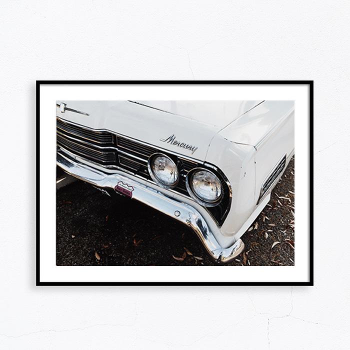 画像1: 1950's Mercury Vintage Cars マーキュリー ヴィンテージカー ポスター (1)