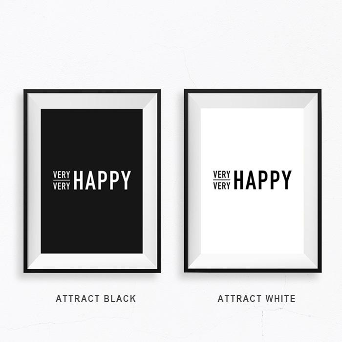 画像1: タブチキヨシ + CA PPRINT COLLECTIVE『VERY VERY HAPPY』 コラボレーション ポスター (1)