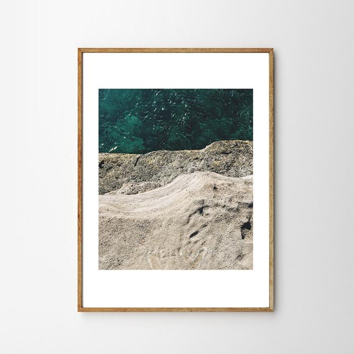 画像1: Ocean Cliff Beauty Nature ポスター (1)