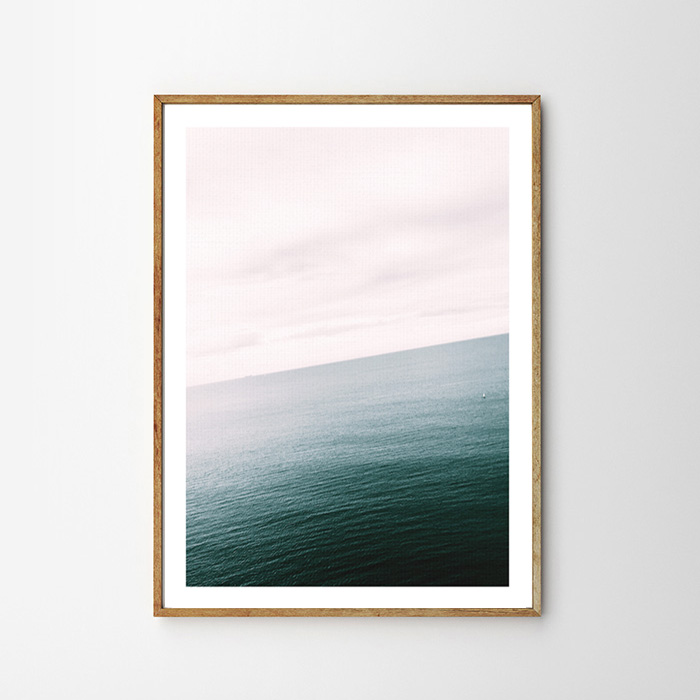 画像1: OCEAN HORIZON 地平線 ポスター (1)