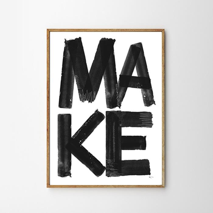 """画像1: """"MAKE """" ポスター (1)"""