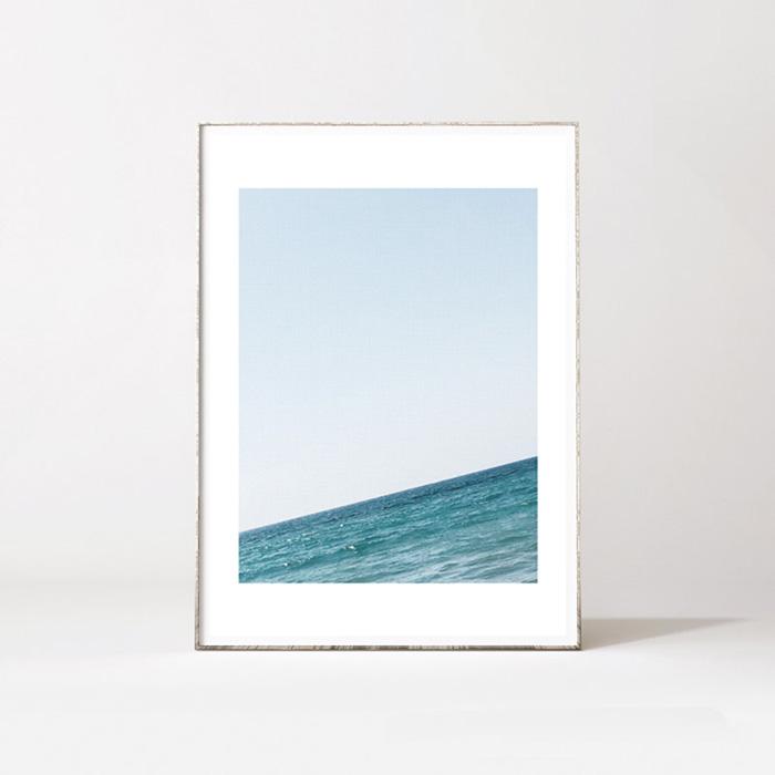 画像1: OCEAN HORIZON - オーシャン&地平線のおしゃれポスター (1)