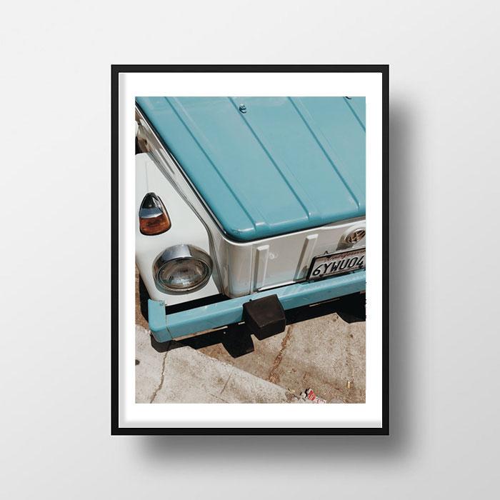 画像1: Vintage Volkswagen スタイリッシュ ポスター (1)