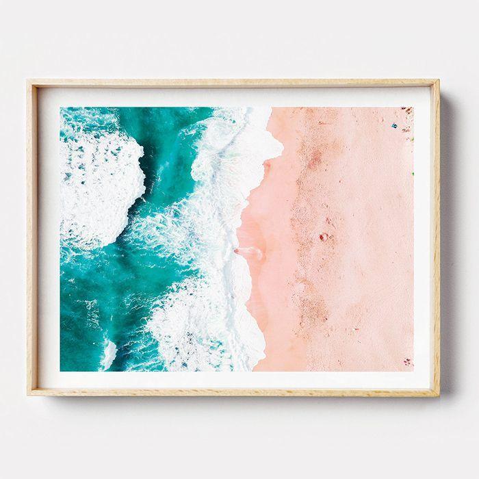画像1: Coastal Beach  ビーチポスター  (1)