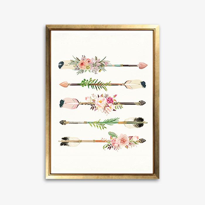 画像1: Flower ARROW アートポスター (1)