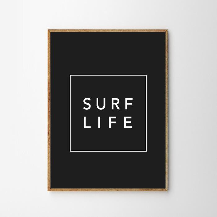 画像1: 『SURF LIFE 』 ポスター (1)