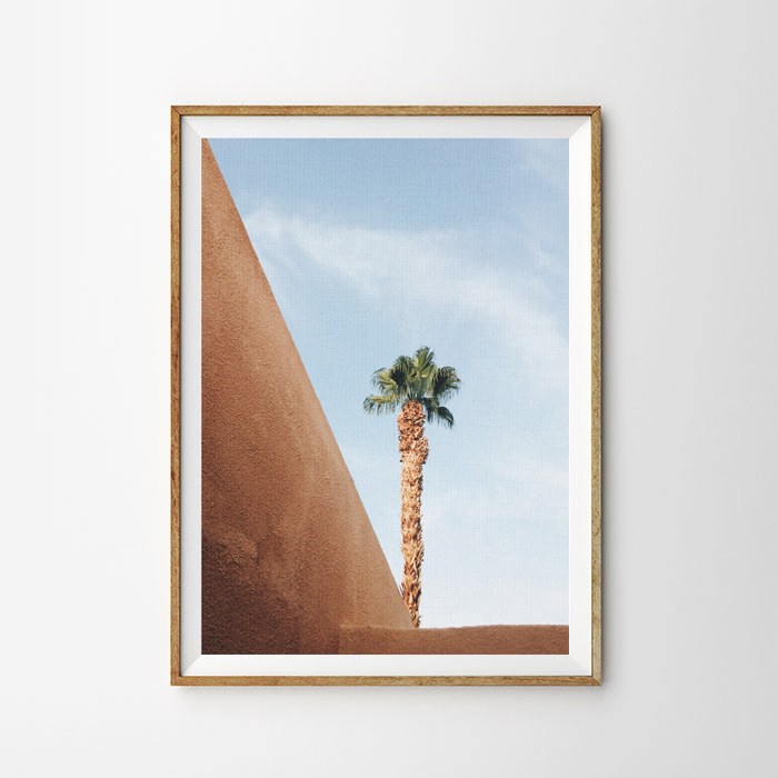 画像1: ONE パームツリー STAND ポスター (1)