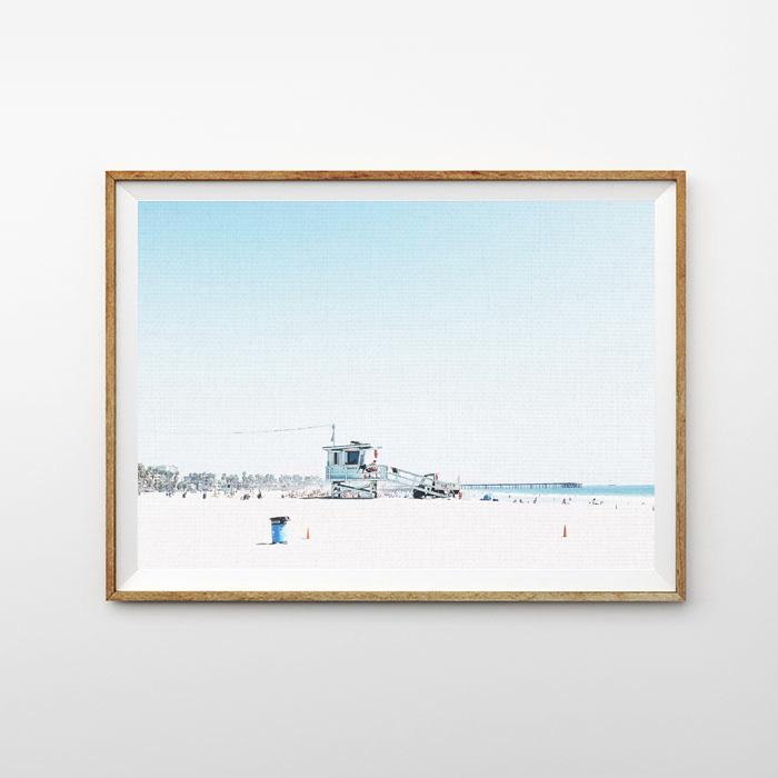 画像1: BEACH LIFE  ポスター (1)