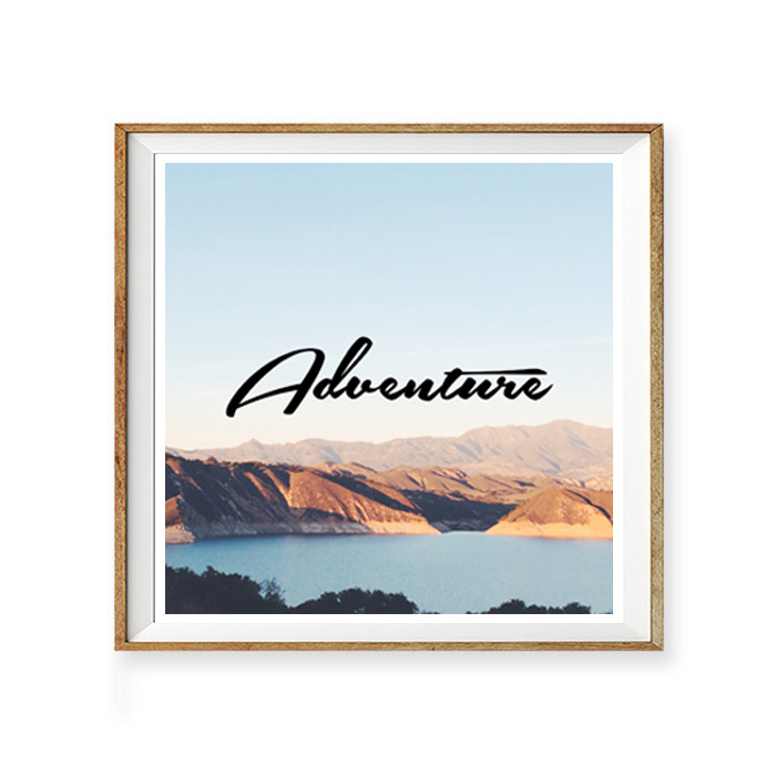 画像1: ADVENTURE (アドベンチャー)ポスター (1)